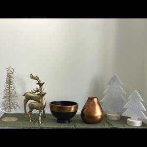 Lot of home decorations - Christmas and spring
